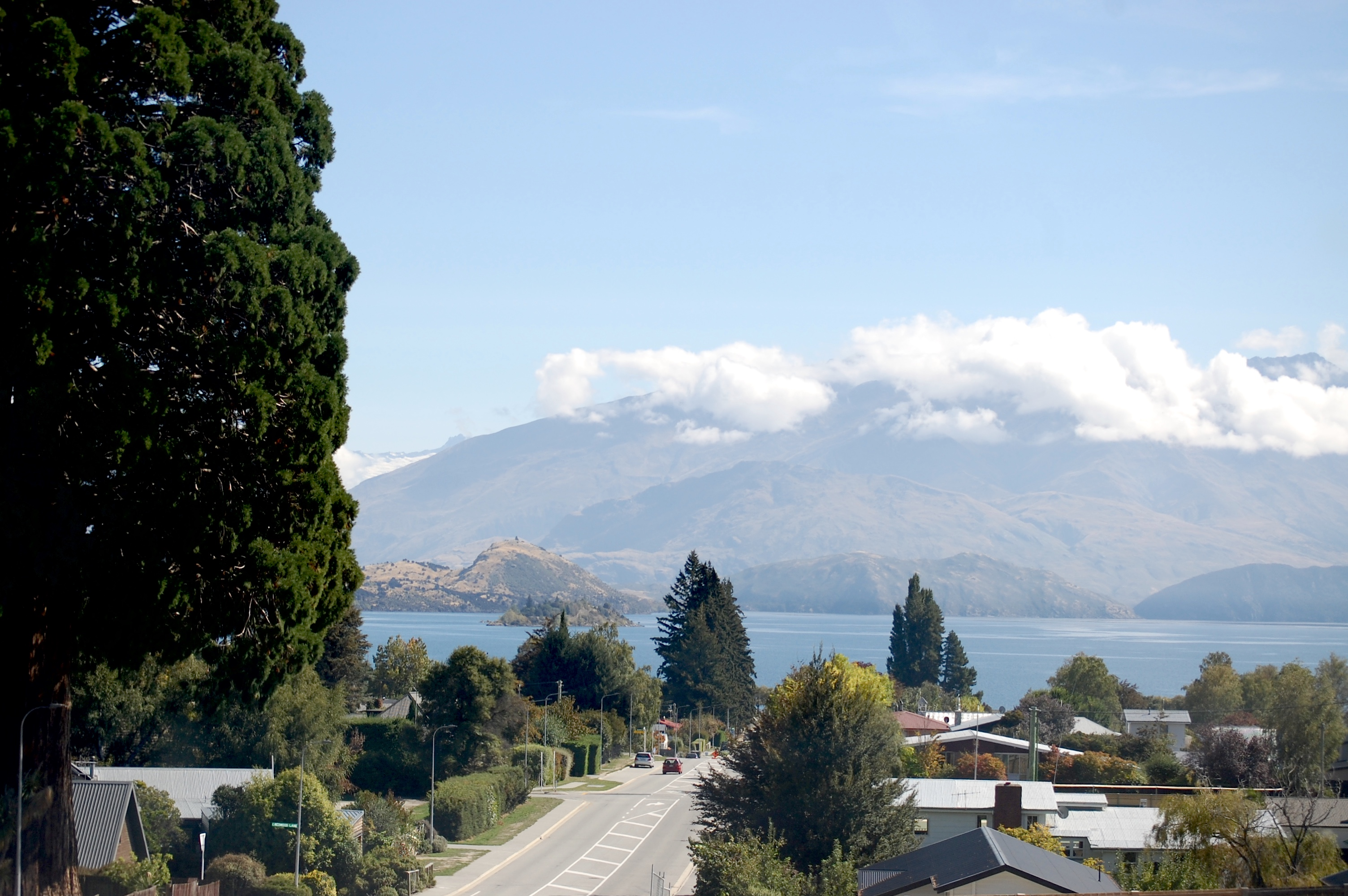 Coming into Wanaka