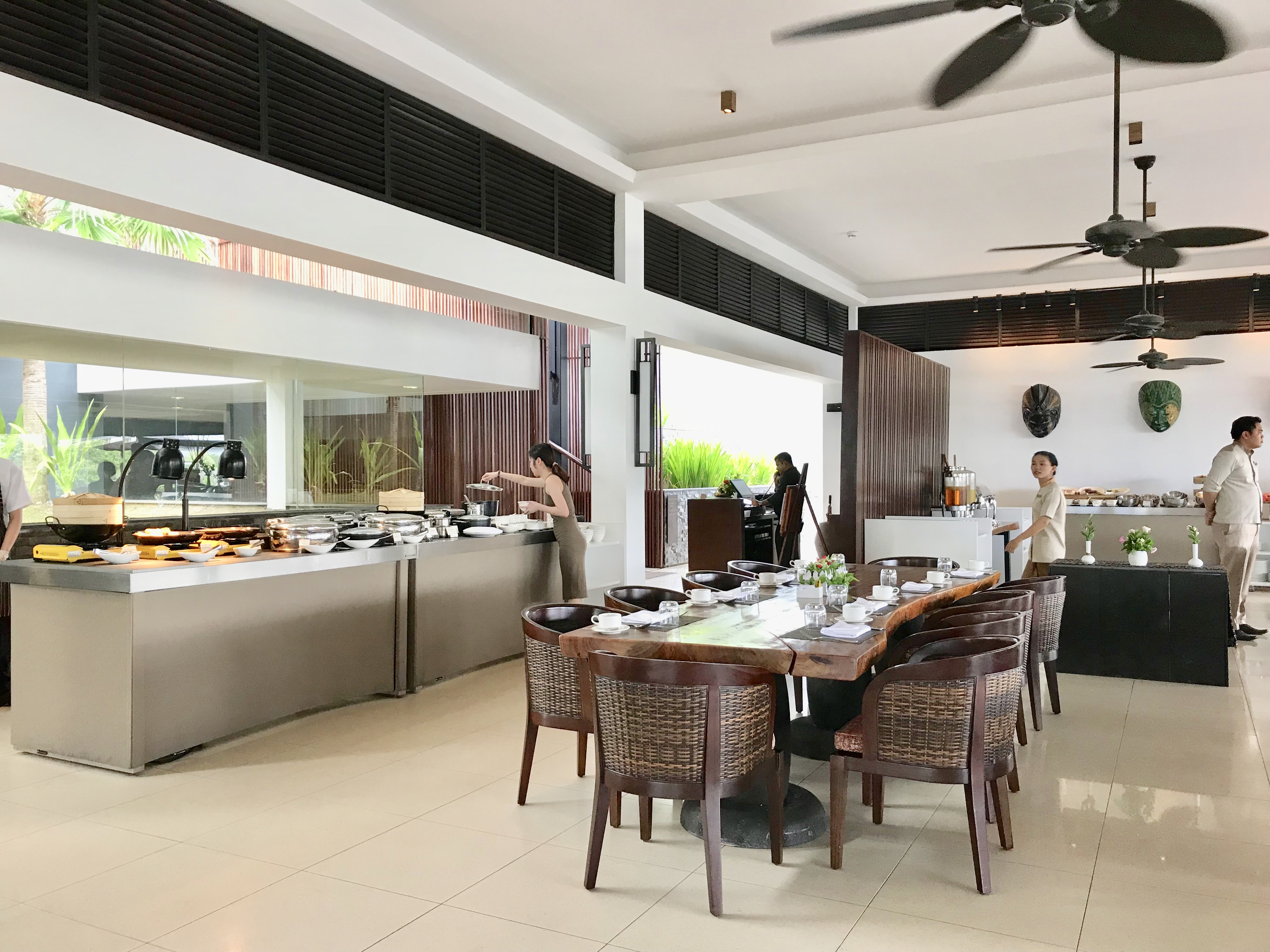 Residence Bintan Breakfast buffet