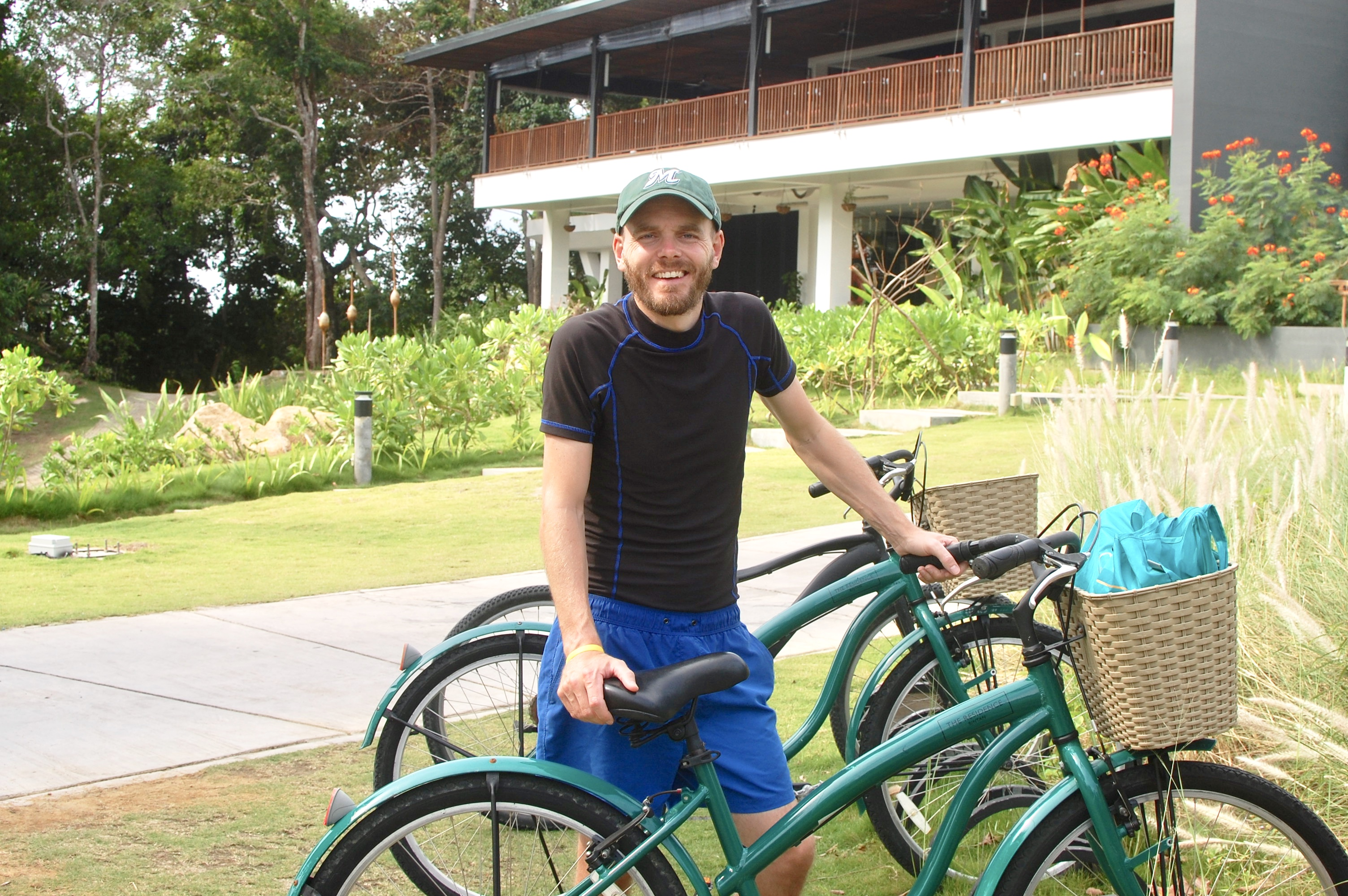 Residence Bintan has free bicycle rental. Bikes are left outside each villa for guest use.
