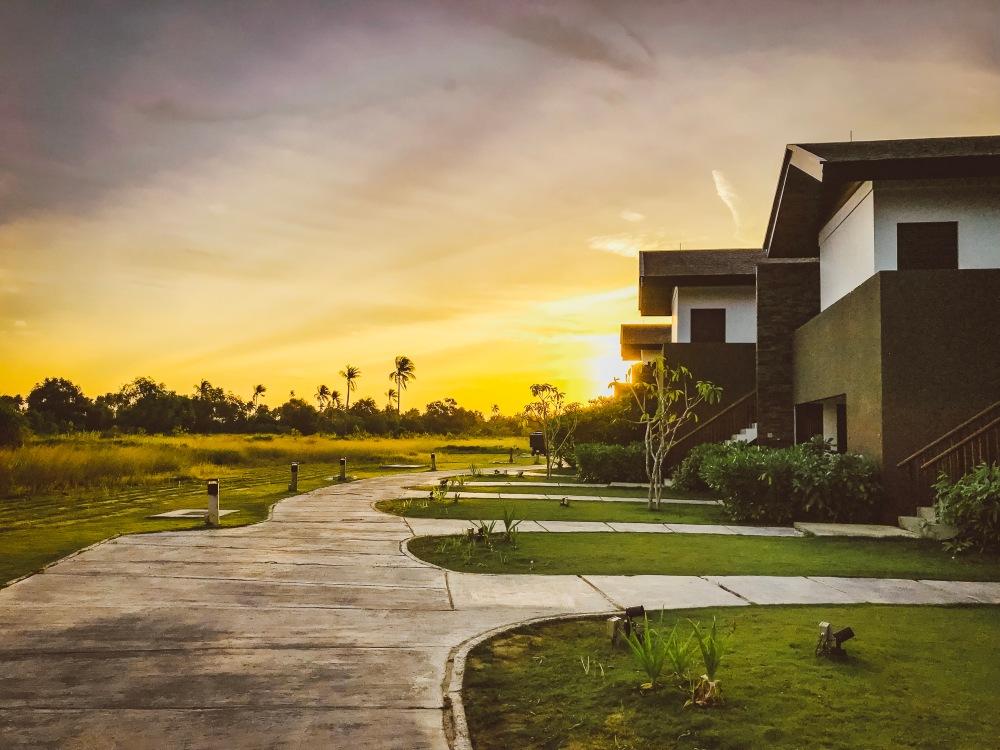 Residence Bintan sunset